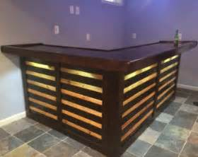 Bar Top Suppliers Pallet Bar Etsy