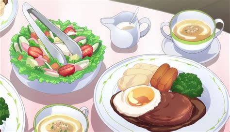Anime Food by Food In Anime Anime Animated Food Food Illustrations