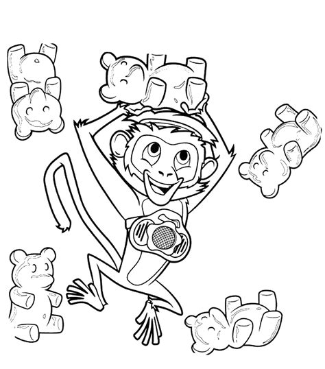 free coloring pages of partly sunny