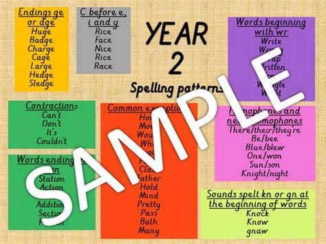 spelling pattern year 2 year 2 spelling pattern mat by erylands teaching