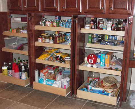 Kitchen Cabinets Pull Out Pantry by Kitchen Pantry Cabinet Pantry Storage Pull Out Shelves