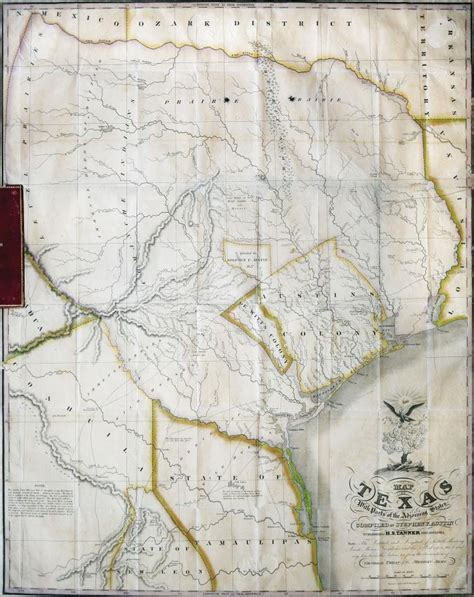 sfa map stephen f 1830 map of