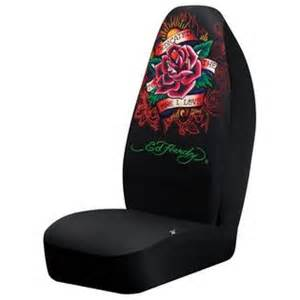 Ed Hardy Seat Covers Walmart Ed Hardy Dedicated Seat Cover Automotive Interior
