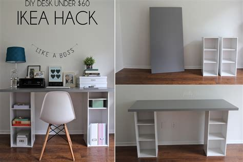 under desk storage ideas diy desk designs you can customize to suit your style