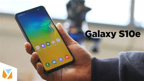 samsung galaxy se hands  review   exciting youtube