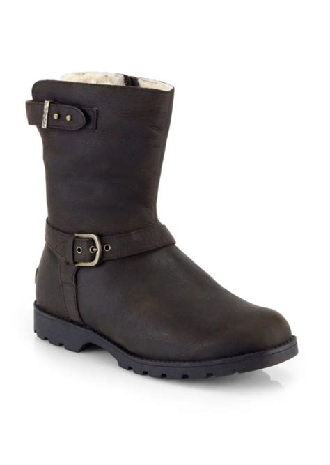 motorcycle boots for sale sale ugg ugg australia grandle shearling lined shearling