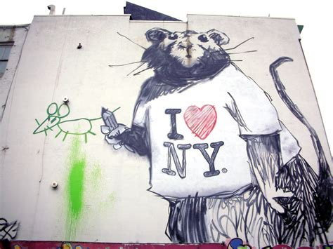 Banksy Wall Murals new banksy piece in nyc s soho