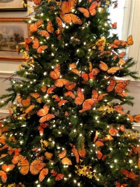 1000 ideas about orange christmas tree on pinterest
