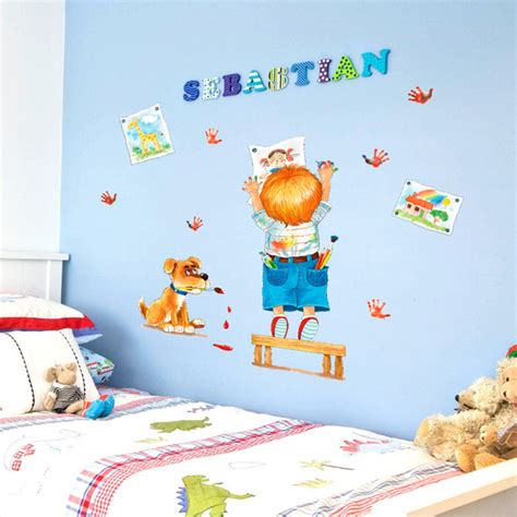 nursery classroom decoration doodle children bedroom bedside living room