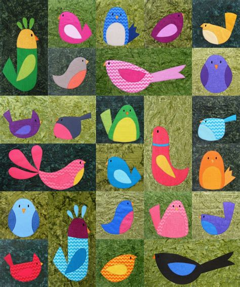 Quilt Patterns With Birds by Your Free Bird Pattern Shiny Happy World