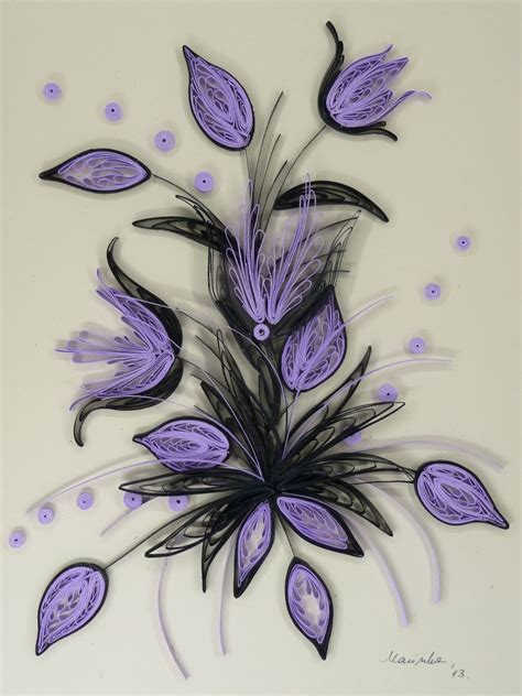 Paper Quilling Flowers - quilling buket quilling 2