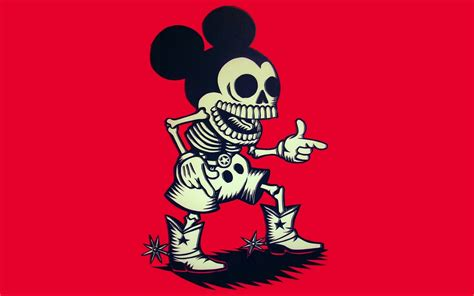 2 Die 4 Ondademar Funky Coverup by Mickey Mouse Skulls Wallpaper 1920x1200 46671