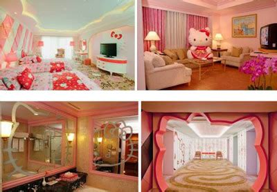 desain interior rumah hello kity gambar rumah kartun hello kitty animasi korea meme lucu