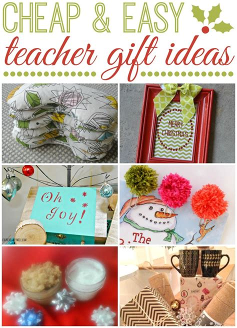 cheap and easy teacher gift ideas plus a 100 visa