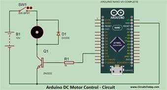speed of a dc motor using pwm dc motor speed using arduino pwm with program
