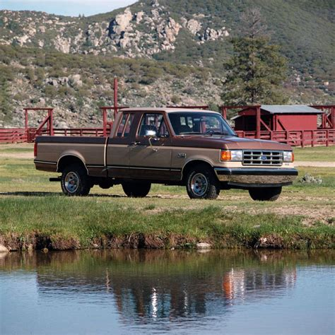 vintage edition 1987 1996 ford f150 f250 f350 super duty pick ups bronco chiltons manual pictures of classic ford trucks