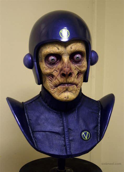 atros zombie mask realistic sculpture 17