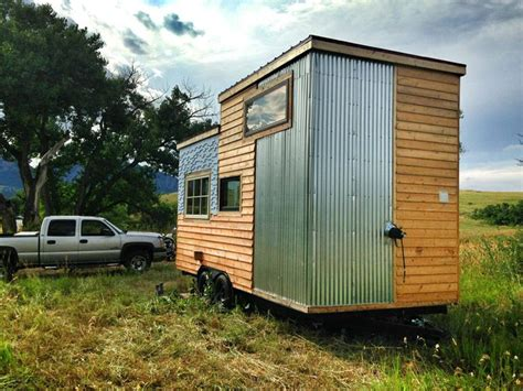 Small Homes For Rent In Boulder Co A 159 Square Tiny House On Wheels Clad In Various