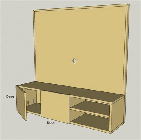 In Wall Media Cabinet Diy Wall Mounted Media Cabinet To Get Idea From