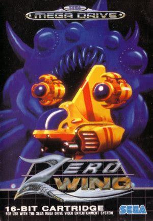 Zeroheroes Longsleve 10 zero wing review mega drive hande s