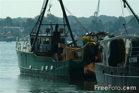 fishing boat usa fishing boat portland maine usa pictures free use