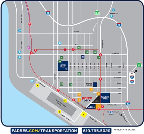 Parking Garage Downtown San Diego by Petco Park Parking And Access Downtown Parking Map San
