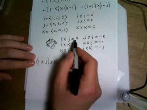 find  vector   determinants