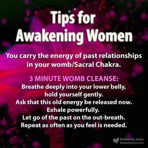 Detox 3 Minutes by Awakening 3 Minute Womb Cleanse Http Www