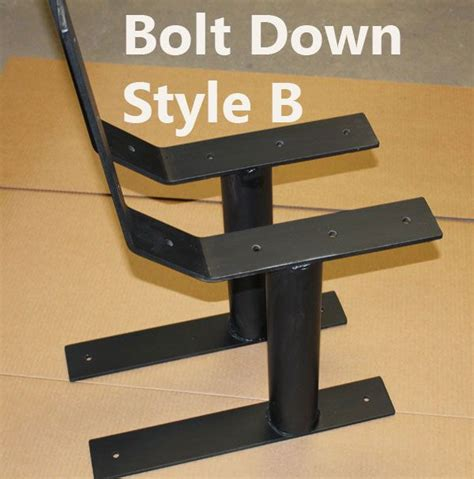 metal deck bench brackets 17 best images about bench brackets on pinterest shops