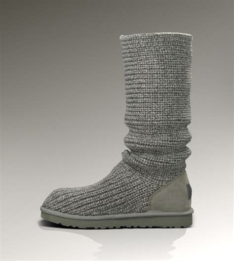 Ugg Classic Cardy Boots 5819 Grey Outlet Store Shopping 2016 Ugg Shoes And Ugg Boots