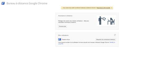 bureau distance chrome chrome remote desktop prenez le contr 244 le de votre pc 224