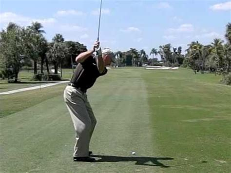 slow motion golf swing from behind jim furyk super slow motion golf swing youtube