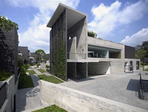 home architects mont timah cluster housing singapore residential e