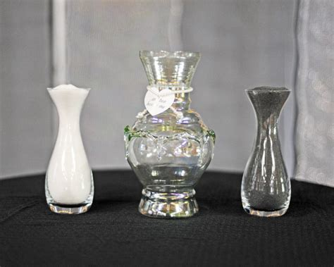 Wedding Sand Vases by Ben Franklin Crafts And Frame Shop Make Your Own Unity