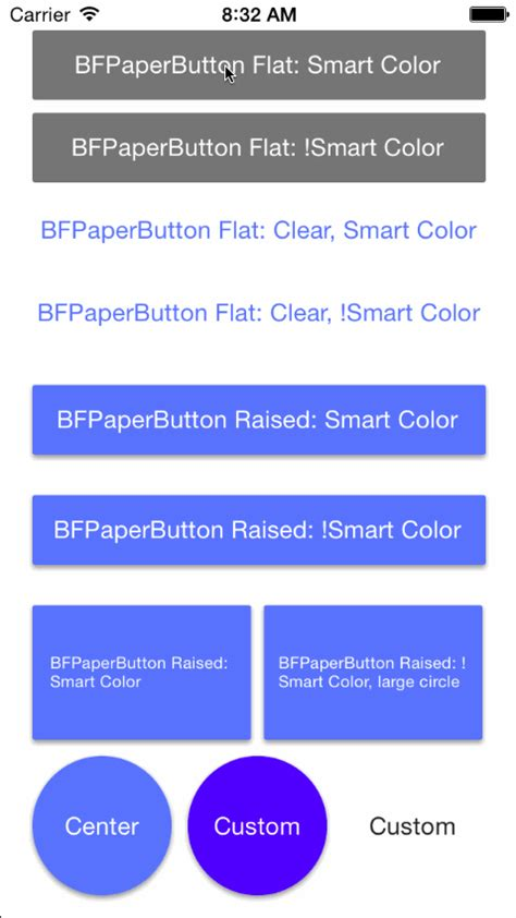 google design buttons github bfeher bfpaperbutton ios buttons inspired by