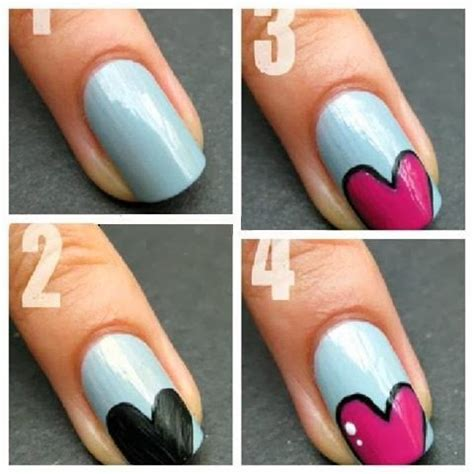 easy nail art with tape step by step easy nail art designs ideas 2015 inspiring nail art