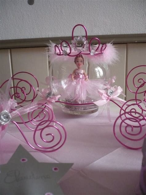 Decoration Bapteme Princesse by D 233 Coration De Table Pour Un Bapt 234 Me Sur Le Th 232 Me F 233 Erique