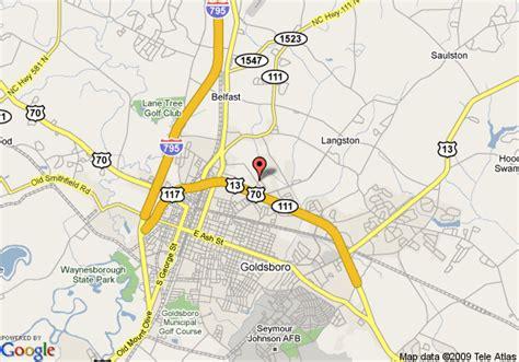 goldsboro carolina map map of counrty inn and suites by carlson goldsboro goldsboro