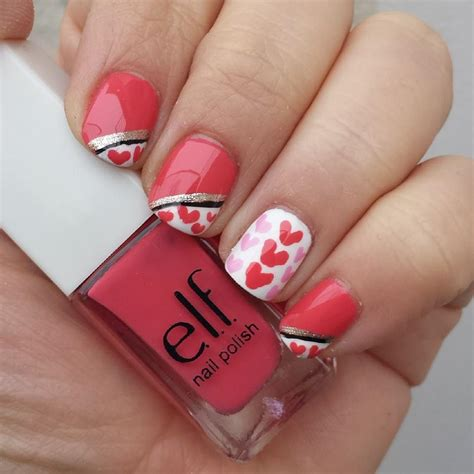 nail for valentines diy s day nail designs crafty morning