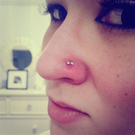 nose tattoo nose piercing ring hoop stud nose rings