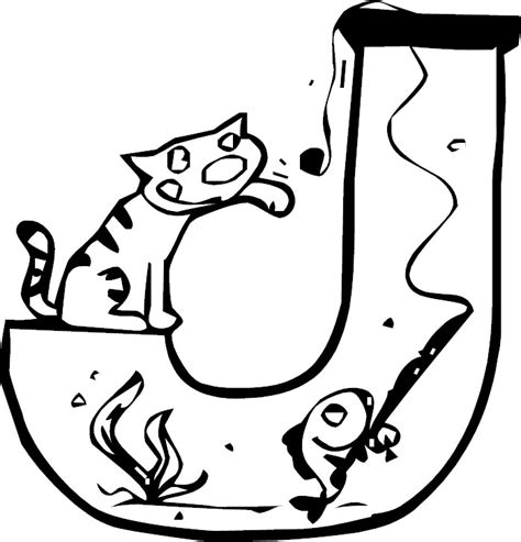 single alphabet coloring pages single alphabets j www imgkid com the image kid has it