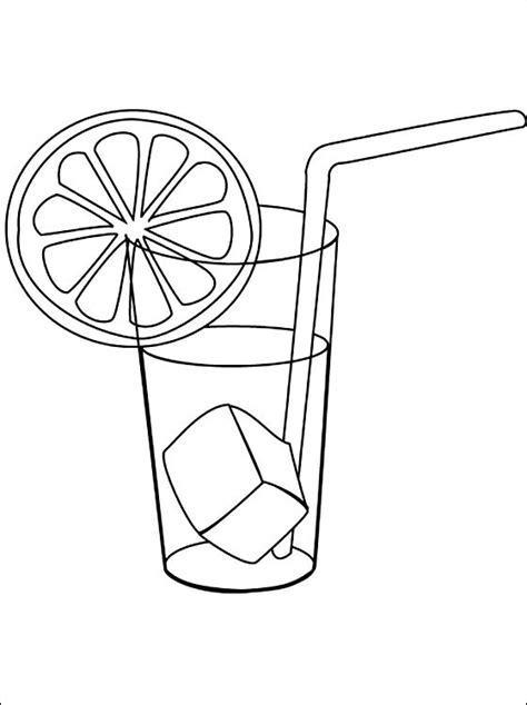 disegni bicchieri disegni da colorare bicchiere di limonata disegni da