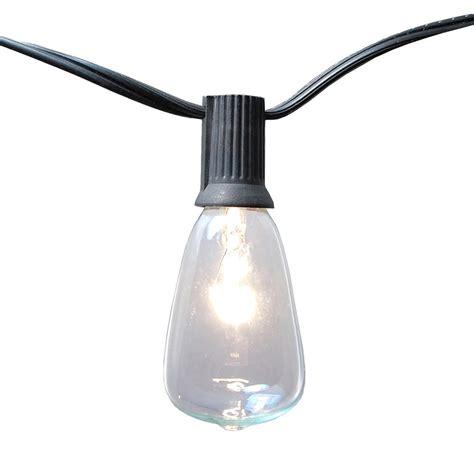 edison bulb string lights home depot newhouse lighting 25 ft indoor outdoor weatherproof