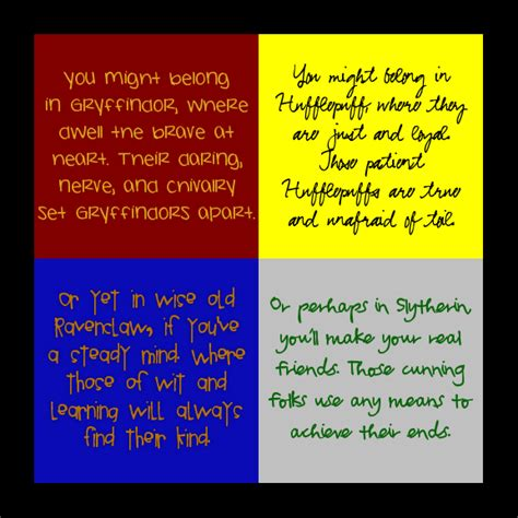 hogwarts house descriptions hogwarts house traits by almister12