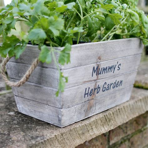 Personalised Planters by Personalised Wooden Planters By Jonny S