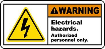 warning electrical hazards label by safetysign j5324