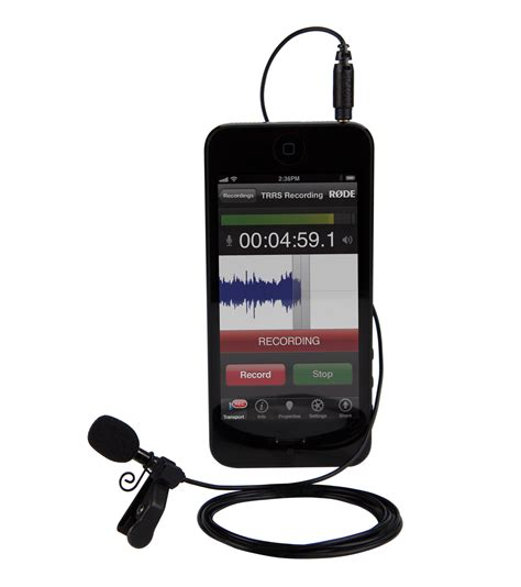 iphone microphone rode smartlav lavalier microphone for iphone and smartphones model musical