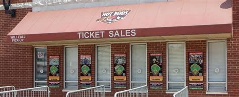 box office hours bowling green rods tickets