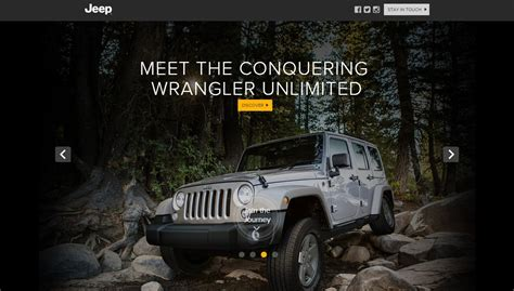Jeep Grand Official Site Jeep Launches Their New Website In India Showcases 2016