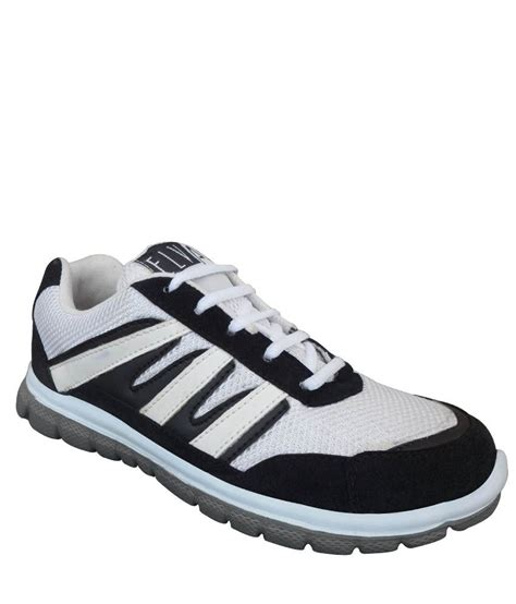 elvace black canvas running sport shoes price in india